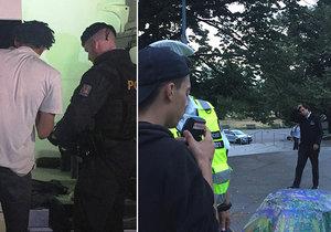 V pátek vyrazili pražští policisté do Letenských sadů. Zkontrolovali tu padesát osob.