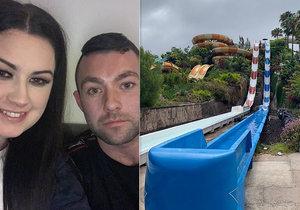 Nebezpečná atrakce na Tenerife: Na skluzavce mladé matce praskla děloha, ztratila tři litry krve!