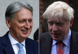 Britský ministr financí Hammond podá demisi. Učiní tak před tím, než ho kvůli nesouhlasu s brexitem bez dohody odvolá zřejmý příští premiér Johnson.