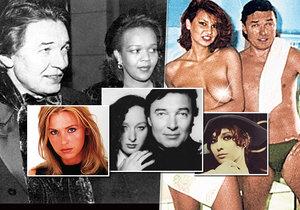 Jaké ženy prošly postelí Karla Gotta?