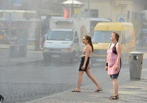 Letní počasí v Česku