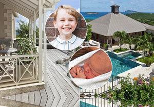 Malý George si užije narozeniny na soukromém ostrově Mustique.