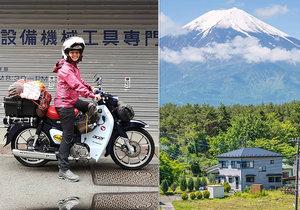 Dominika Gawliczková cestuje po Japonsku