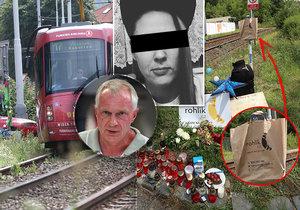 Má podíl na smrti řidičky (†28) v Praze-Troji zarostlá křižovatka? Ta tramvaj nebyla vidět, tvrdí expert