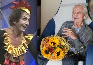 Smutné narozeniny mima Čejky (83): Sužuje ho alzheimer i parkinson!