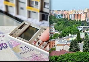 Rozdíl cen nových a starších bytů je v Praze nižší než v krajích