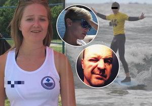Plavčice Laura popsala dramatické okamžiky, kdy bojovala o život mladého sportovce Davida...