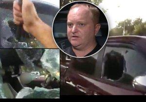 Matka zamkla dítě (7 měs.) v rozpáleném autě. Z pekla ho vysvobodil strážník