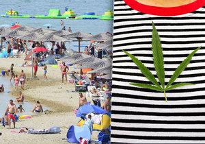 Žena dostala v dovolenkovém ráji Čechů pokutu za marihuanový list za triku.