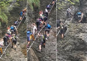 Slováci se rozčilují nad nebezpečným předbíháním Čechů na horách: Tohle je normální?
