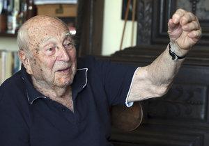 Brzy stoletý vědec a astronom Luboš Perek