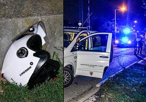 Motorkář spáchal sebevraždu kousek od místa, kde se v dubnu 2014 zabila Iveta Bartošová.