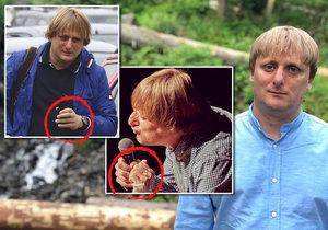 Oslavenec Lukáš Pavlásek zapřel, že by měl cokoliv s rukou...