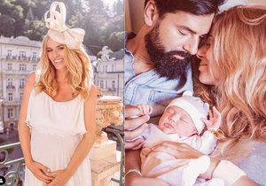 Zlatokopka z reklamy Nikol Moravcová porodila: Na svět přivedla dcerku Violet!