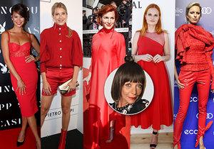 Františka radí, jak nosit rudou
