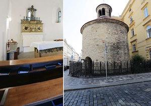 Rotunda Nalezení sv. Kříže má bohatou a mystickou historii.