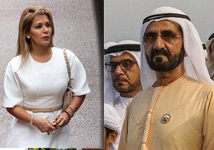 """Začal """"rozvod století"""": Princezna Hajá a dubajský vládce se soudí o děti."""