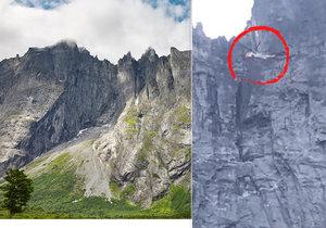 Čeští horolezci zemřeli na nejvyšší evropské skalní stěně.