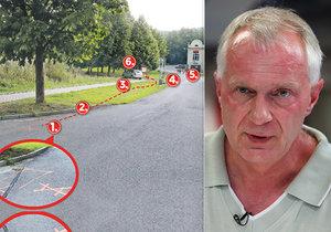 Dopravní expert o nehodě v Humpolci: Řidič měl dost času na reakci