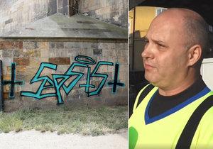 Čistič z Karlova mostu Miloslav Černý v roce 1999 zavraždil manželku a jejího milence