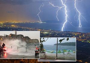 Bouře v Chorvatsku