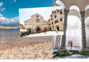 Město Zadar a jeho okolí nabízí spoustu výletů.