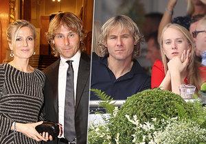 Fotbalista Pavel Nedvěd: Krach manželství! Teď randí s blondýnkou Luckou.