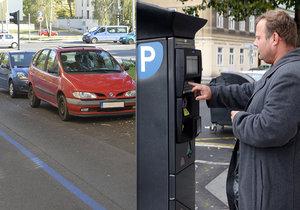 Praha 4 kritizuje systém zón placeného stání, magistrát ho obhajuje (ilustrační foto).