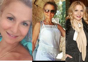 Yvetta Blanarovičová předvedla na dovolené svou přirozenou tvář