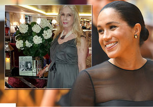 Meghan Markle a Lady Colin Campbell
