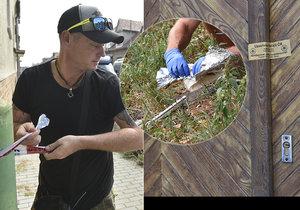 Policisté v Břeclavi vyšetřují dvojnásobnou vraždu muže (†89) a zhruba padesátileté ženy. Po hodinách důkladného hledání našli i předmět, který by mohl být vražednou zbraní.