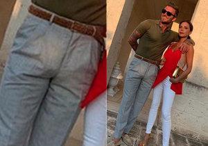 David ukázal, co má v kalhotách