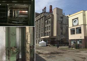 Část areálu bývalého mlýna a pekárny půjde k zemi. Vyrostou tu byty a obchody.