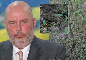 Ministr zemědělství Toman (ČSSD) upozorňuje, že situace s přemnožením hrabošů je závažná