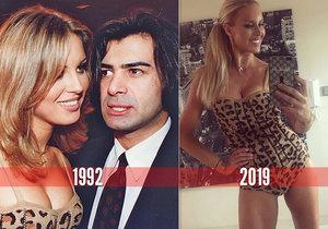 Simona Krainová se oblékla do body 27 let starého!