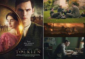 Snímek Tolkien sleduje osudy J.R.R. Tolkiena (Nicholas Hoult, 29) dávno před tím, než se z něj stal slavný spisovatel. - Od 7. 8. 2019 na DVD  a Blu-ray.
