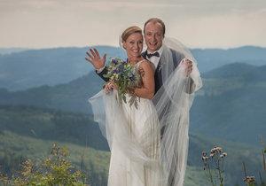 Markéta Pešková se vdala