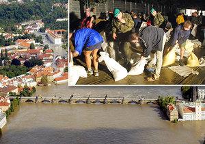 Do Prahy před 17 lety přišla ničivá povodeň.