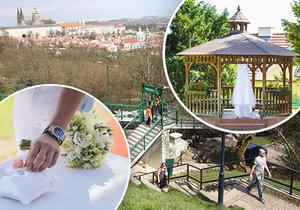 Víme, kde jsou nejkrásnější místa ke svatbě v Praze.