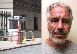 Po sebevraždě Epsteina dostali dva bachaři pracovní volno a ředitel věznice byl přeložen.