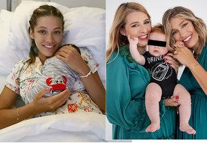 Jasmina Alagičová srovnává svůj porod s porodem sestry ve Vídni.