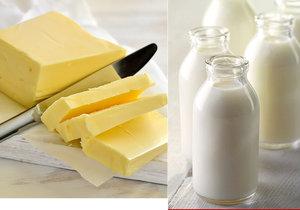 Bude zase dražší máslo a mléko?