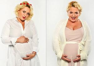 Těhotná Miluše Bittnerová