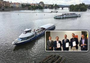 Pražský magistrát, Praha 1 a Praha 5 podepsaly memorandum o společném úsilí v boji proti nové plavební komoře v centru města.