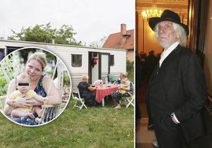 Dcera legendárního skladatele Petra Hapky (†70): Bydlí v mobilním domě!