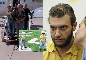 """Tohle je otec """"vlčích dětí""""! Z Francie ho převezla policie do Česka."""