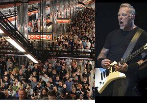 Metallica Jožinem z bažin rozvášnila 70 tisíc lidí: Pivo i voda za 70, kolaps MHD, parkoviště zrušeno!