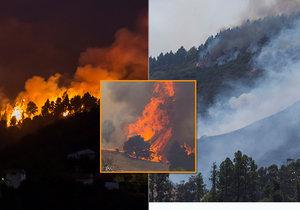 Rozsáhlé lesní požáry zasáhly ostrov Gran Canaria