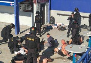 V Praze policie zadržela celkem 26 fanoušků Baníku.