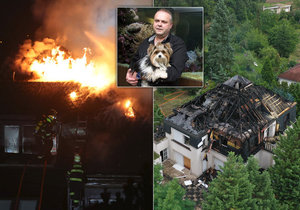 Krejčířova vypálená vila se nedařila prodat. Stojí na lukrativních pozemcích.